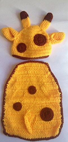 y Mädchen Boy/crochet Knit Kostüm Foto Fotografie Prop Hüte Outfits (Giraffe Kind Kostüme)