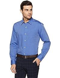 Arrow Men's Solid Regular Fit Business Shirt