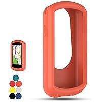 Carcasa de silicona iFeeker, para Garmin Edge 1030 (funda protectora de pantalla a prueba de golpes), para Garmin Edge 1030 Navigation Device, color Orange Red