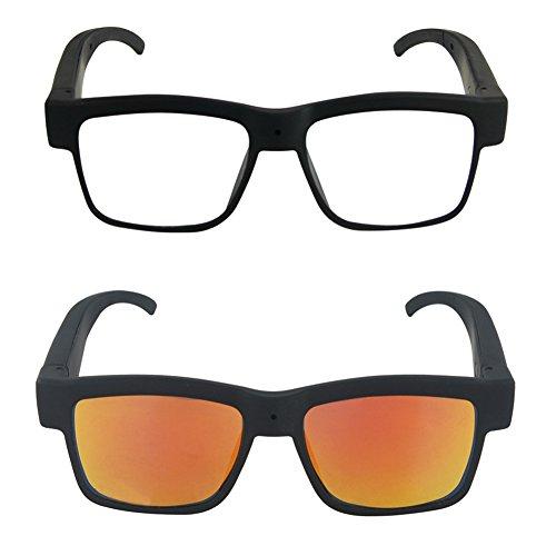 kaersishop Video Aufnahme Sonnenbrille Neuen Smart Kamera Schießen 500pixels1080p Outdoor Sport High-Definition unterstützen Eine Vielzahl von Spezifikationen der Gläsern Weiß