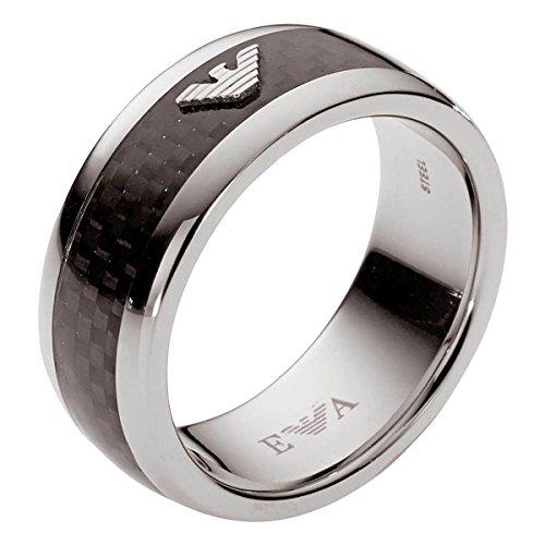 Emporio Armani Herren-Ring Edelstahl Gr. 60 (19.1) - EGS1602040-9