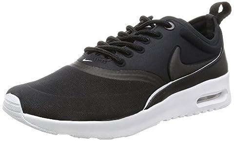 Nike Mädchen W Air Max Thea Ultra Laufschuhe, Black (Black (schwarz / schwarz-weiß-dunkelgrau)), 37.5 (Nike Air Max Thea Black)