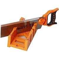 313571 marco de espiga de sierra manual de corte a inglete con guía 30,48 cm.