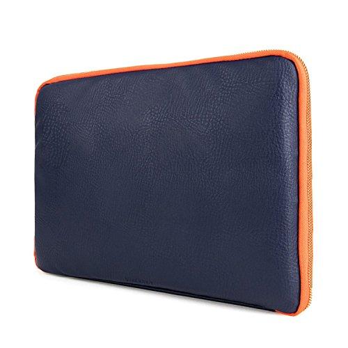 VanGoddy AD_NBKLEA922_114 Schutzhülle, 33,8 cm (13,3 Zoll), Midnight Blue & Orange