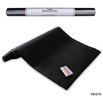 Carta lavagna adesiva adesivo lavagna rimovibile memo da for Carta parete adesiva