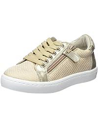 TPulling, Sneaker bambine Bianco Rosa 25=EU:24 Beige 26=EU:25