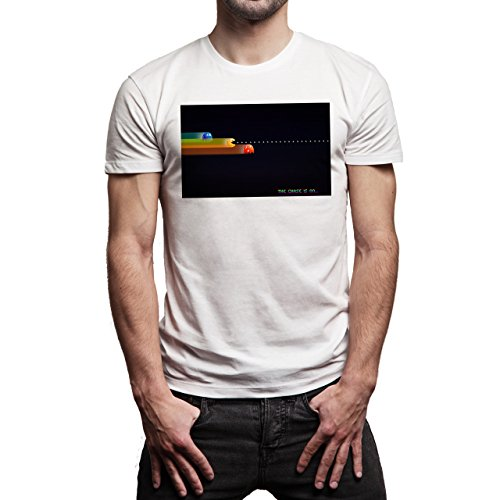 Pac-Man-Pixels-Vampire-Background.jpg Herren T-Shirt Weiß