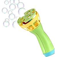 Vovotrade Elektrische Bubble Wands Maschine Bubble Maker automatische Gebläse Bunte Seifenblasen Maschine für Kinder und Erwachsene | Partys | Lustiger Outdoor Spielzeug