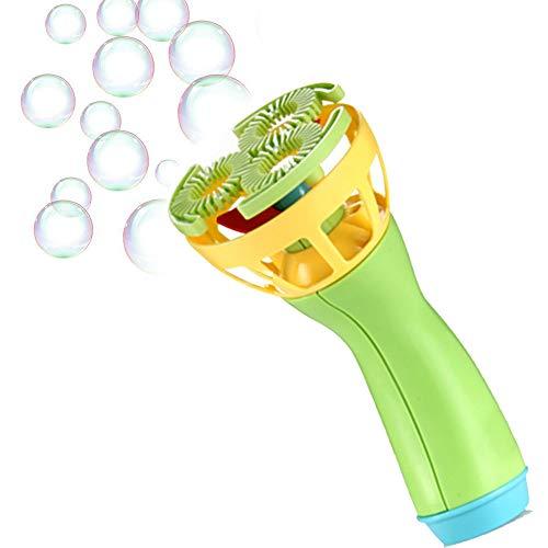 Colorful Seifenblasenmaschine Seifenblasen-Maschine Elektrisch Bubble Blower Maker Bubble Machine für Kinder (Grün)