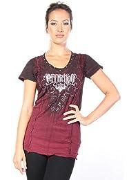 Affliction Tarnished Diamond - T-shirts - Femmes