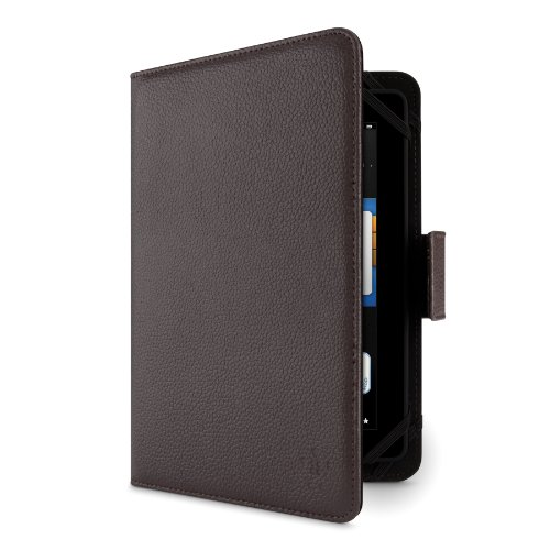 Belkin F7P169vfC00 Universal Folio Tasche, Hülle, Bookstyle Book Case, Schutzhülle für Tablet 7