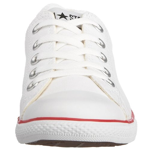 Converse Chuck Taylor All Star Slim Core Canvas Ox, Herren Sneaker Optical White