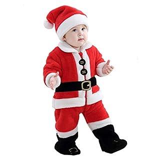 Doladola – Disfraz de Papá Noel unisex para niños y niñas