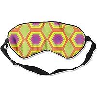 Geometric Retro Pattern Sleep Eyes Masks - Comfortable Sleeping Mask Eye Cover For Travelling Night Noon Nap Mediation... preisvergleich bei billige-tabletten.eu