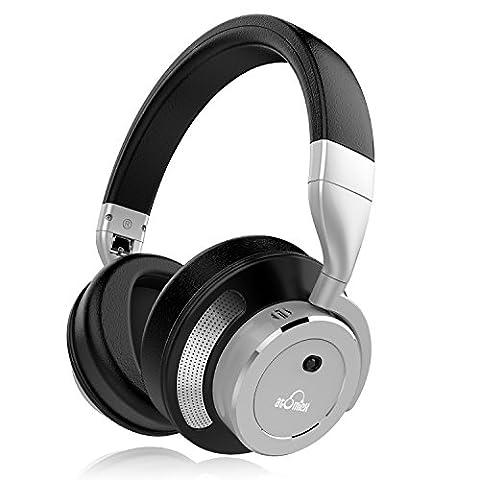 iDeaUSA casque Réducteur de bruit active–Casque sans fil Bluetooth 4.1–Over
