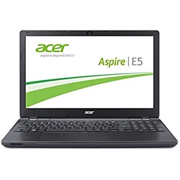 Acer Aspire E5-571-36CL 39,6 cm (15,6 Zoll) Notebook (Intel Core i3 4030U, 1,9GHz, 4GB RAM, 1000GB HDD, Intel HD 4400, DVD, Win 8.1) schwarz