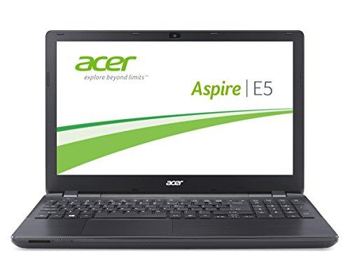 Acer Aspire E5-571-36CL 39,6 cm (15,6 Zoll) Notebook (Intel Core i3 4030U, 1,9GHz, 4GB RAM, 1000GB HDD, Intel HD 4400, DVD, Win 8.1) schwarz