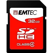 Emtec ECMSD32GHC4 - SD-32GB Tarjeta de Memoria
