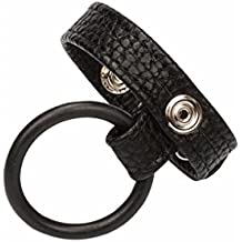 Babysbreath Male Leather Cock Ring Cockring Cage Penis Sleeve Ring Sex Delay Sex Toy 20cm
