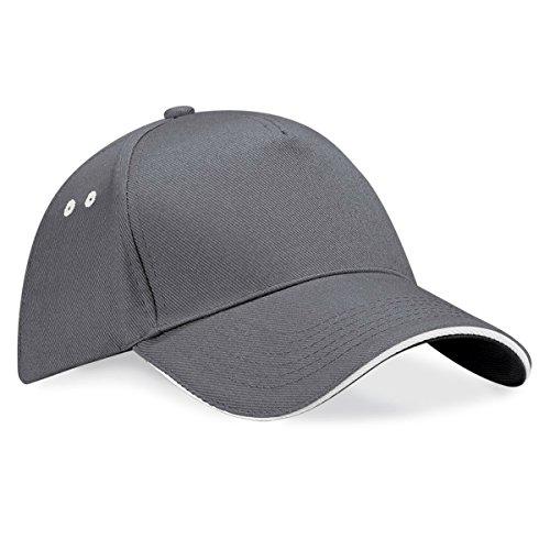 Beechfield Unisex Baseballkappe Ultimate (Einheitsgröße) (Graphit/Grau) one size,Graphit/Grau