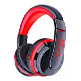 IMODA Stereo Gaming Headset Bluetooth Kopfhörer Audio 3.5mm Jack Sport Kopfhörer Leichtgewicht...