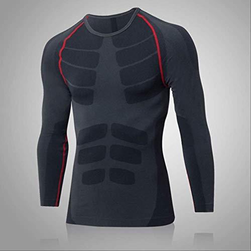 NUASH Quick Dry Compression Herren T-Shirt Enger Sportanzug Fitness Jersey Kostüm Laufbluse Sportswear L - Quick Angel Kostüm