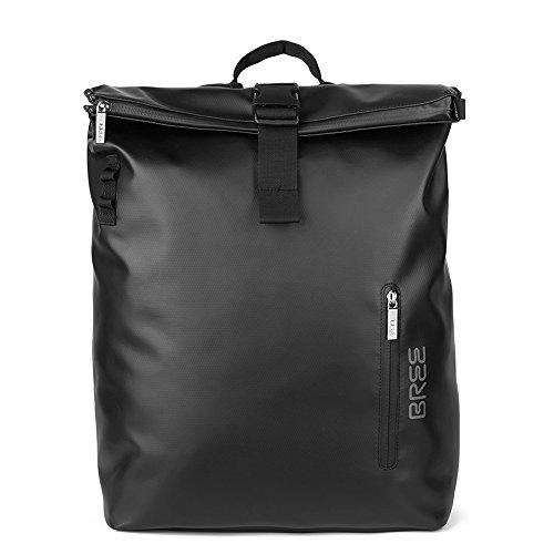 BREE Unisex-Erwachsene Punch 712, Black, Backpack S Rucksack, Schwarz (Black), 14x36x30 cm (Punch S/b)
