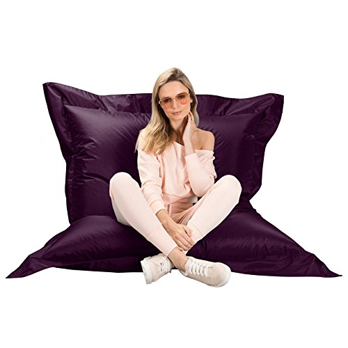 Big Bertha Original, Puff Gigante Cama XL, Puf, Morado