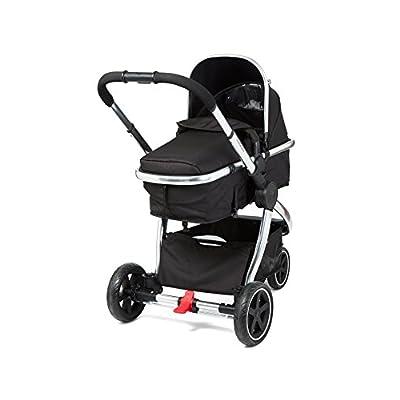 Mothercare 3-Wheel Journey Chrome Travel System, Black