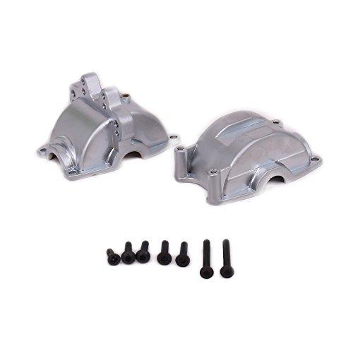 53 vorne/hinten Metall für Rc Hobby Modell Auto 1/18 Wltoys A959 A969 A979 K929(Silber) ()