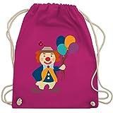 Bunt gemischt Kinder - Clown Luftballons - Unisize - Fuchsia - WM110 - Turnbeutel & Gym Bag