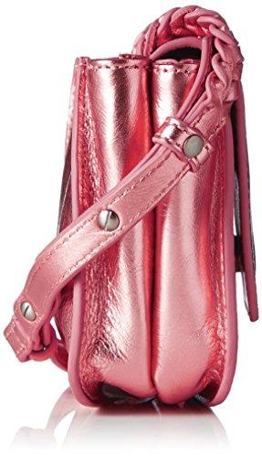 Liebeskind Berlin Kawai7v Metall, sac bandoulière Pink (tulip red)
