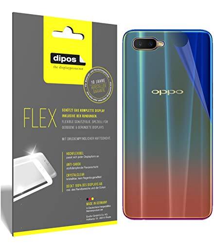 dipos I 3X Schutzfolie 100prozent passend für Oppo RX17 Neo Rückseite Folie (Vollständige Bildschirmabdeckung) Bildschirmschutzfolie