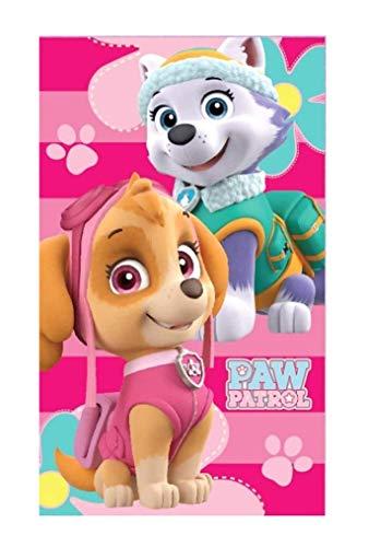 PawPatrol Kinder Handtuch/Gesichtstuch 30x50cm 100% Baumwolle tolles Geschenk Paw Patrol (pink)