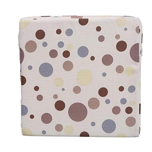 Cuscino sedia pranzo sedia imbottitura cuscino rialzo da sedia per bambini cuscino per bambini rialzo per seggiolino 32cm*32cm*8cm beige