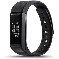 étanche Montres Connectées,Bracelet Tracking d'activités L'écran Tactile Podomètre et Calories,GPS sport,Réveil,Sommeil, pour iPhone IOS 8.0 Android 4.3