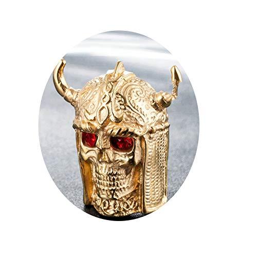ge Herren Goldring Herren Hörner Gold Gr. 65 (20.7) 40mm Breit 38g Gothicring ()