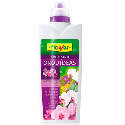 Flower 10499 10499-Abono líquido orquídeas 1000ml, No No Aplica 10.5x6.2x28.5 cm