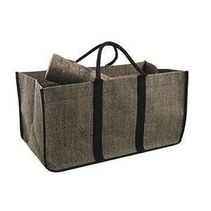 Aubry Gaspard – Bolsa para leña, yute plastificado, 65cm