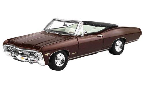 Vrai ?chelle 1/43 Chevrolet Impala 2 porte Plum convertible (japon importation)