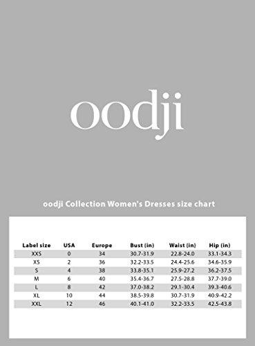 oodji Collection Femme Robe en Maille Texturée à Col Bateau, Noir, FR 40 / M