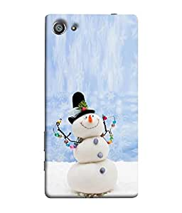 FUSON Designer Back Case Cover for Sony Xperia Z5 Compact :: Sony Xperia Z5 Mini (Merry Christmas Funny Arts Colourfull Christmas tree )