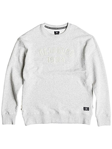 Herren Sweater DC Montlake Pullover Light Heather Grey