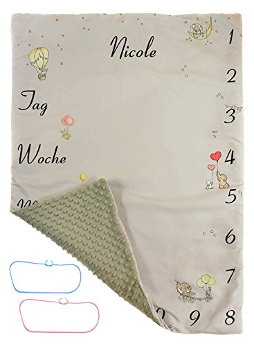 Foto-Decke Sehr Dick Neugeborenes Baby Foto Fotografie Mode Decke für Jungen und Mädchen 90 x 70cm [081] (Baby Link Kostüme)