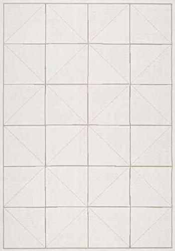 dehors Alfombra para exterior blanco 120x 170cm