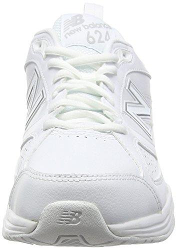 New Balance MX624AW4-624, Herren Outdoor Fitnessschuhe Weiß (White 100White 100)