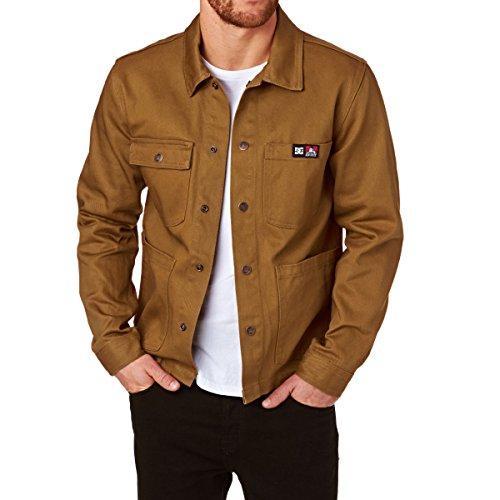 Herren Jacke DC Ben Davis Front Snap Jacket dc wheat