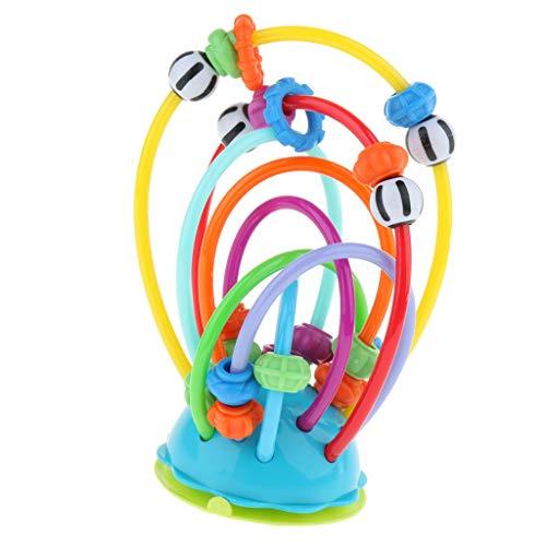 B Baosity Kinder Baby Bunte Mini um Perlen pädagogisches Spiel Spielzeug Kinder Wulst Spielzeug