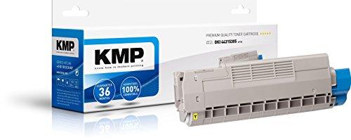 Preisvergleich Produktbild KMP Toner für OKI C610dn/dtn/n, O-T34, yellow