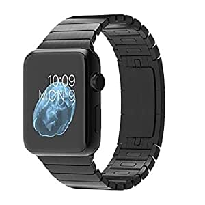Apple Watch 42mm Space Black Case with Space Black Stainless Steel Link Bracelet